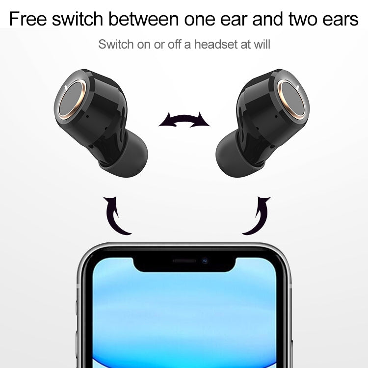Original Lenovo X18 IPX4 Waterproof Bluetooth 5.0 Touch Wireless Bluetooth Earphone with Charging Box, Support Call & Siri (White) - star-produkte.myshopify.com