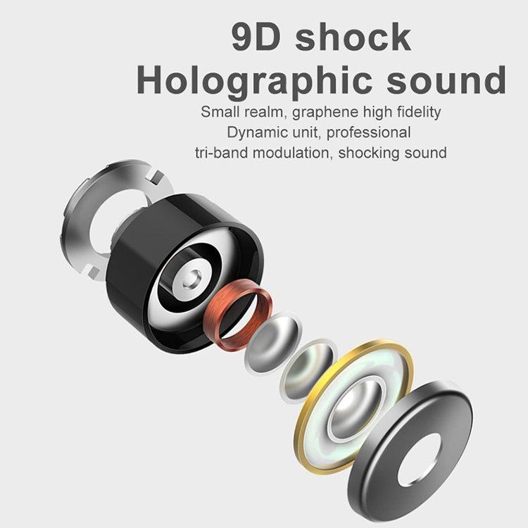 L22 9D Sound Effect Bluetooth 5.0 Wireless Bluetooth Earphone with Charging Box & Digital Display, Support for HD Calls (White) - star-produkte.myshopify.com