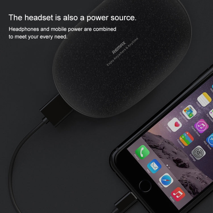 REMAX TWS-3 TWS Bluetooth 5.0 Stereo Magnetic Wireless Bluetooth Earphone with Magnetic Charging Storage Box(Black) - star-produkte.myshopify.com