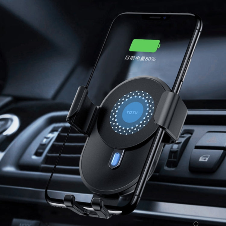 TOTUDESIGN CACW-036 Smart Series Car Mobile Phone Wireless Charger Mount Holder - star-produkte.myshopify.com