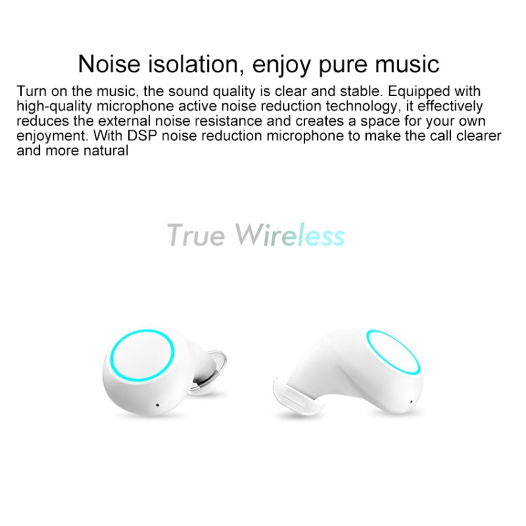 J1 Waterproof Creative Pumping 5.0 Bluetooth Mini TWS Wireless Bluetooth Earphone(Grey) - star-produkte.myshopify.com