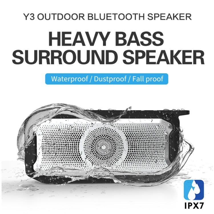 X3 5W Outdoor IPX7 Waterproof Wireless Bluetooth Speaker, Support Hands-free / USB / AUX / TF Card (Army Green) |