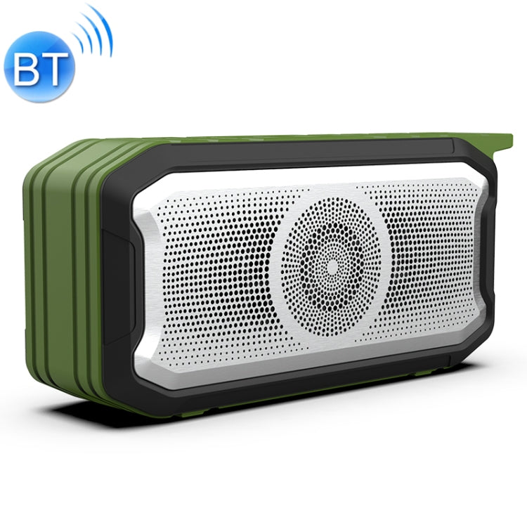 X3 5W Outdoor IPX7 Waterproof Wireless Bluetooth Speaker, Support Hands-free / USB / AUX / TF Card (Army Green) - Star Produkte