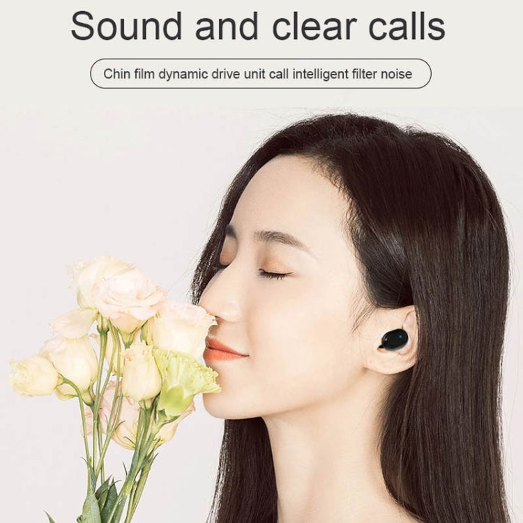 TWS-M1 TWS Bluetooth Earphone with Magnetic Charging Box, Support Memory Connection & Call & Battery Display Function (White) - star-produkte.myshopify.com