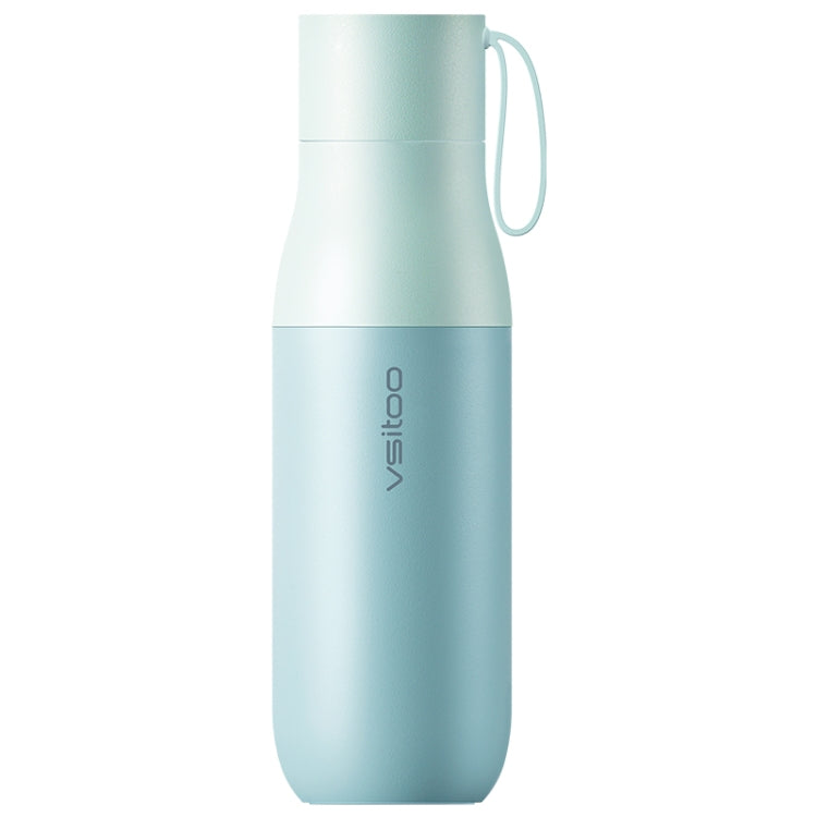 Original Huawei Vsitoo Smart Water Bottle Vacuum Thermal Cup, Capacity : 450mL, Support HUAWEI HiLink(Blue) - Star Produkte