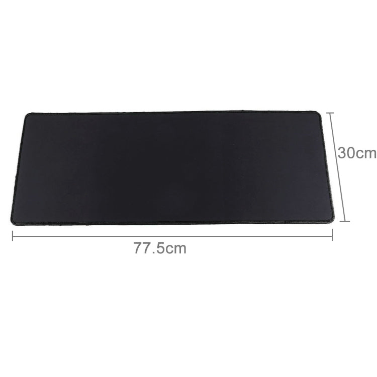 Extended Large Waterproof Slim Anti-Slip Soft Rubber Smooth Cloth Surface Game Keyboard Mouse Pad Mat, Size: 775 x 300 x 4 mm - Star Produkte