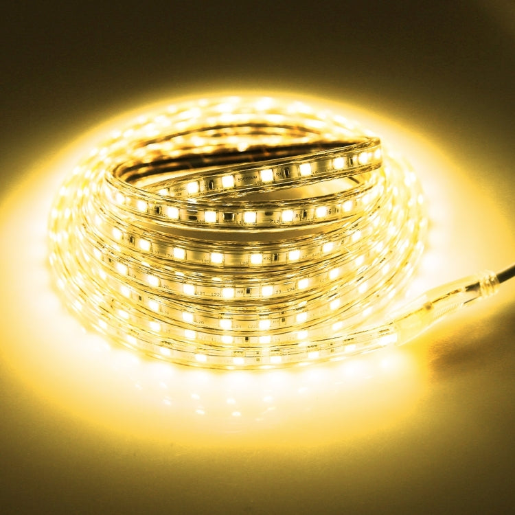 3m Casing LED Light Strip, 60 LED/m, 180 LEDs SMD 5050 IP65 Waterproof with Power Plug, AC 220V(Warm White) - star-produkte.myshopify.com