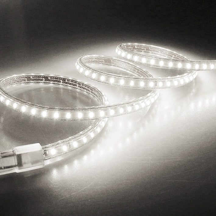 5m Casing LED Light Strip, 60 LED/m, 300 LEDs SMD 5050 IP65 Waterproof with Power Plug, AC 220V(White Light) - star-produkte.myshopify.com