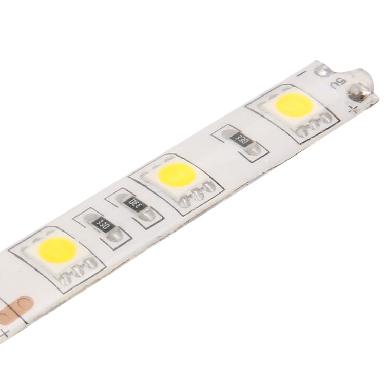 50cm 3W USB Rope Light, Epoxy IP65 Waterproof 30 LED 5050 SMD with 1m Extended Switch Cable, Wide: 10mm(Warm White) - star-produkte.myshopify.com