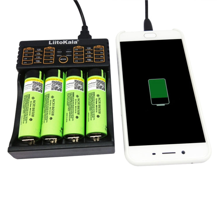 LiitoKala lii-402 4 In 1 Lithium Battery Charger for Li-ion IMR 18650, 18490, 18350, 17670, 17500, 16340(RCR123), 14500, 10440 - Star Produkte