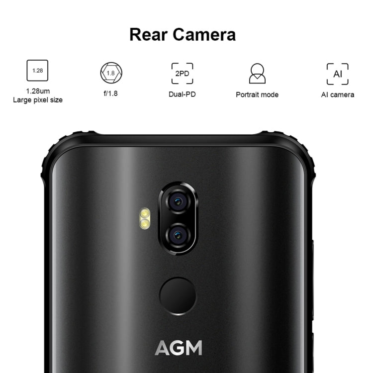 AGM X3 Rugged Phone, 8GB+128GB