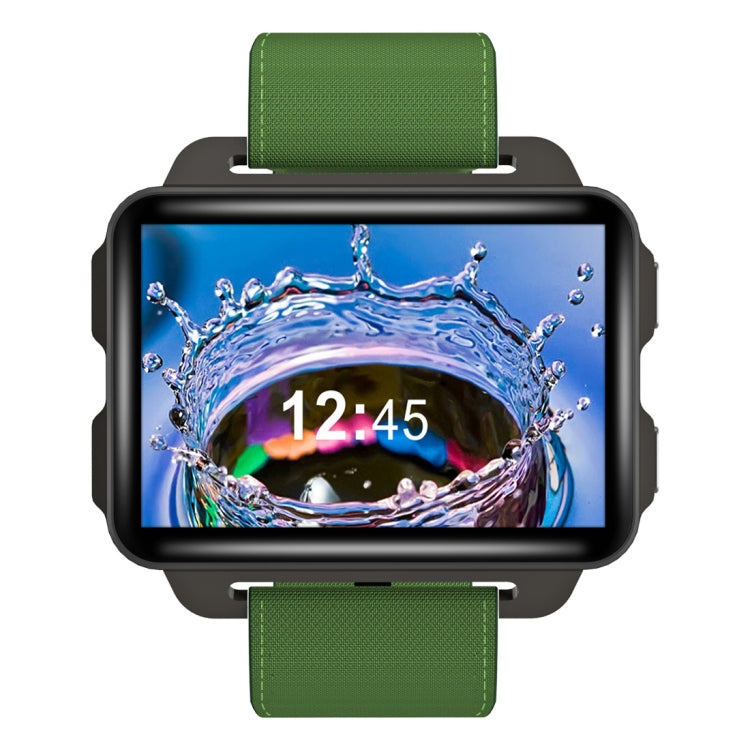 DOMINO DM99 Smart Watch Phone, 1GB+16GB, 2.2 inch Android 5.1, MTK6580 Quad Core 1.3GHz, Network: 3G, 1.3MP Camera / Heart Rate / Pedometer / GPS / WiFi  / Bluetooth (Green) |