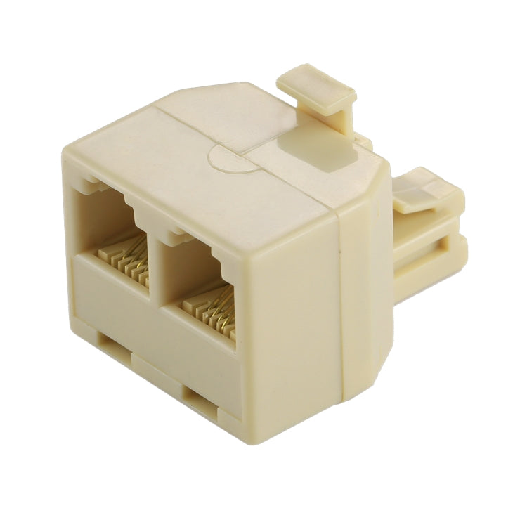 RJ11 Dual Ports Desktop Telephone Extension Cable Extender Connector Adapter - star-produkte.myshopify.com