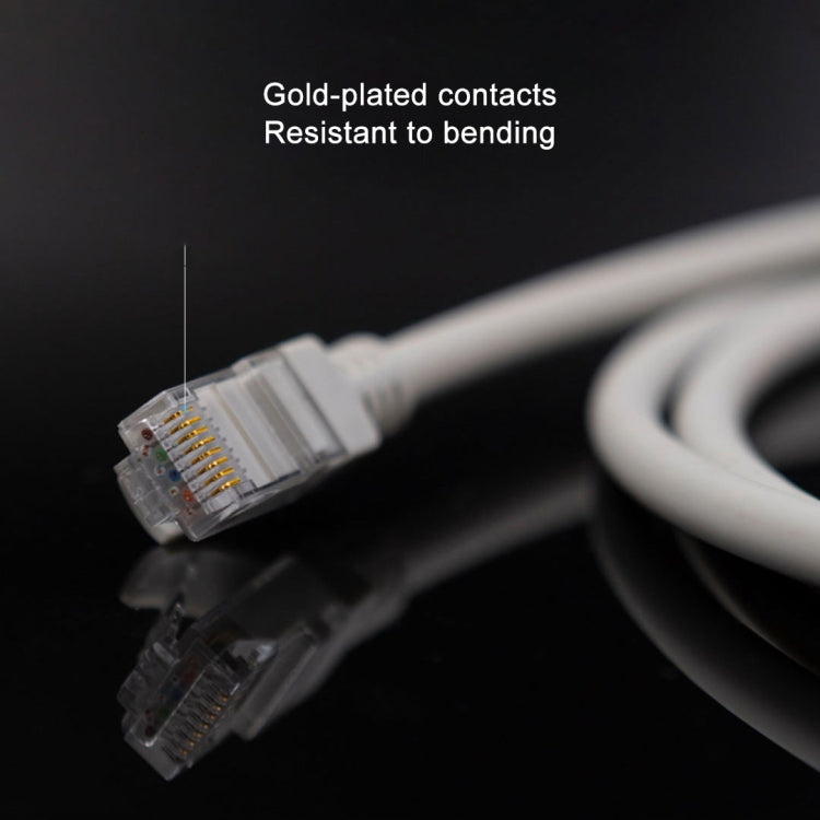 Original Xiaomi YouPin CAT6 Gigabit Ethernet Network Cable RJ45 Network Port Lan Cable 1000Mbp Stable for PC Router Laptop, Length: 10m - star-produkte.myshopify.com