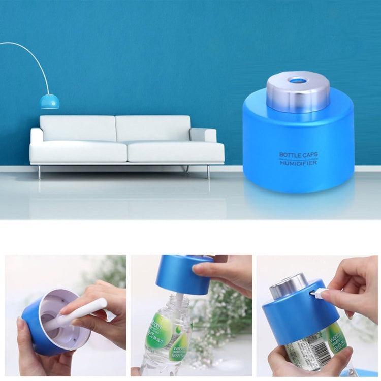 USB Bottle Caps Aroma Diffuser Mist Maker Air Humidifier(White) |