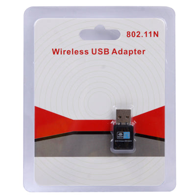 300Mbps Wireless 802.11N USB Network Nano Card Adapter(Black) |