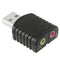 USB 2.0 Stereo Sound Adapter, External Power Not Required(Black) - star-produkte.myshopify.com