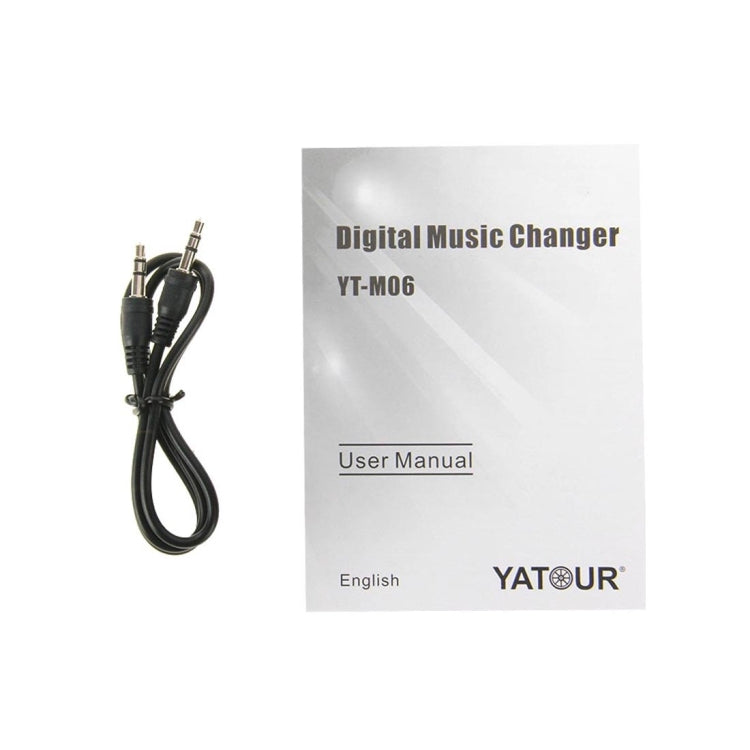 Yatour YT-M06 Digital Music Changer with Hyundai 13 Pin Cable for Hyundai Optima (Front Six-Disc) / Elantra Car, Support USB / SD / AUX / MP3 Music Interface - Star Produkte
