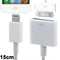 15cm 8 Pin Male to 30 Pin Female Adapter Cable, For iPhone 6 / 6 Plus, 5 / 5S / 5C, iPad mini 1 / 2 / 3, iPad Air, iTouch 5, iPod Nano 7(White) - star-produkte.myshopify.com