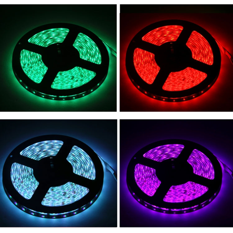 Epoxy Waterproof LED Strip, Length: 5m, RGB Light 5050 SMD LED with 44 Keys RGB LED Light Controller, 60LED/m - star-produkte.myshopify.com