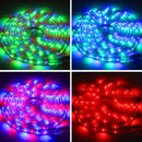 Casing Waterproof  Rope Light, Length: 3m, RGB Light 3528 SMD LED, 60 LED/m, AC 220-240V - star-produkte.myshopify.com
