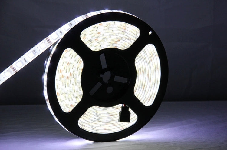 White & Warm White Light LED Light Strip, 5052 SMD Epoxy Waterproof with LED Controller & Remote, 60 LED/m, Length: 5m - star-produkte.myshopify.com
