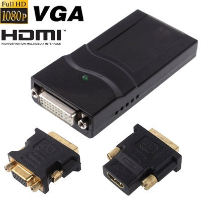 USB 2.0 to DVI / VGA / HDMI Display Adapter, Support Full HD 1080P, Expandable up to 6 Display Units - Star Produkte