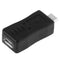 USB 2.0 Micro USB Male to Female Adapter for Galaxy S IV / i9500 / S III / i9300(Black) | #Elektroniktrade.ch#