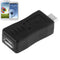 USB 2.0 Micro USB Male to Female Adapter for Galaxy S IV / i9500 / S III / i9300(Black) - Star Produkte