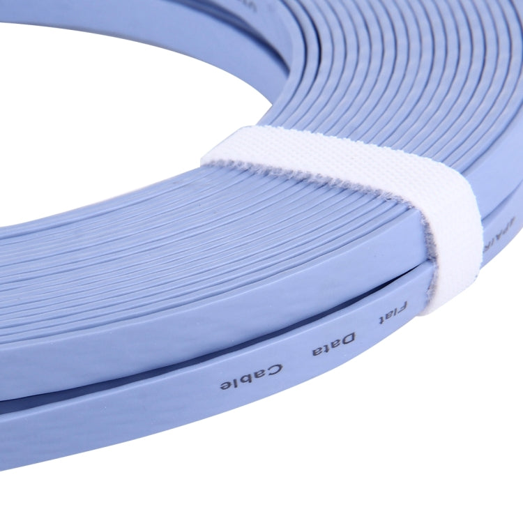 CAT6 Ultra-thin Flat Ethernet Network LAN Cable, Length: 30m(Blue) - star-produkte.myshopify.com