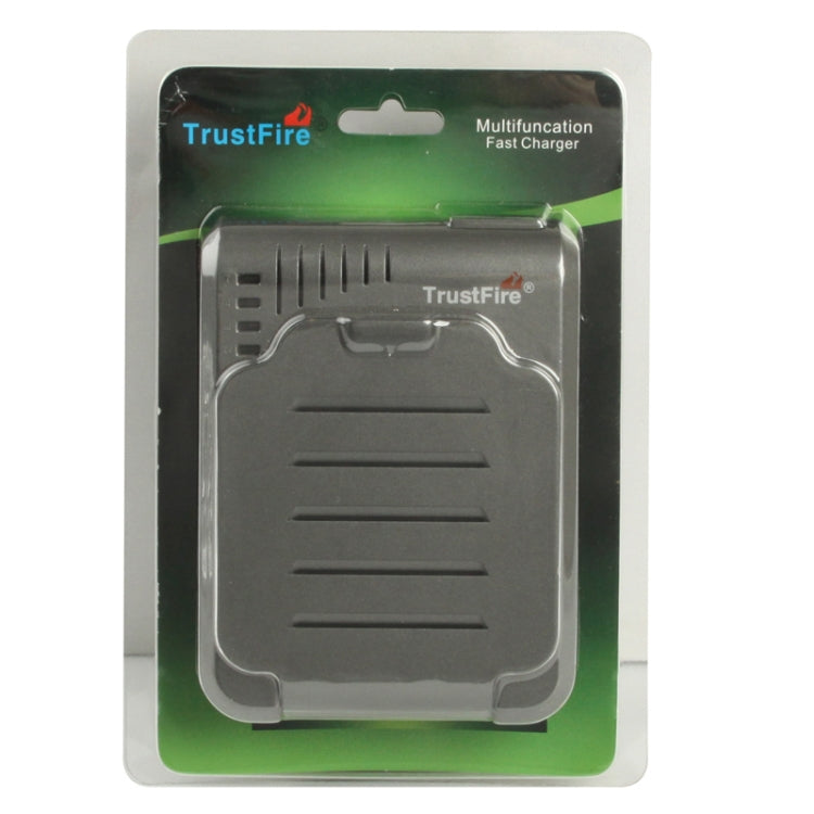 TR-003P4 TrustFire 1x4 Universal Cylindrical Li-ion Battery Charger for 10430/ 10440/ 14500/ 16340/ 17670/ 18500 - Star Produkte