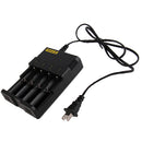 Universal Lithium Battery Charger for 26650 / 22650 / 18650 / 17670 / 18490 / 17500 / 17335 / 16340 / 14500 / 10440 (100V - 240V)(Black) - Star Produkte