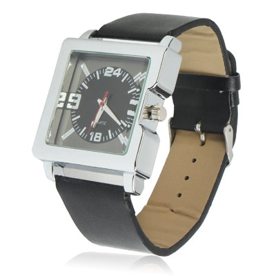 Stylish Quartz Wrist Watch Wristwatch with Leather Band - star-produkte.myshopify.com