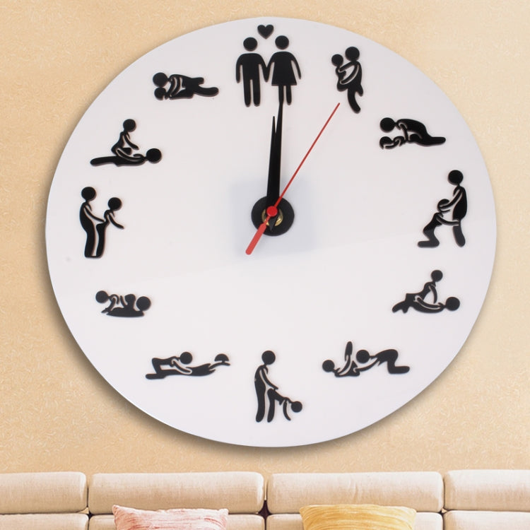 Sex Position Clock / Novelty Wall Clock Adult Clock - Star Produkte