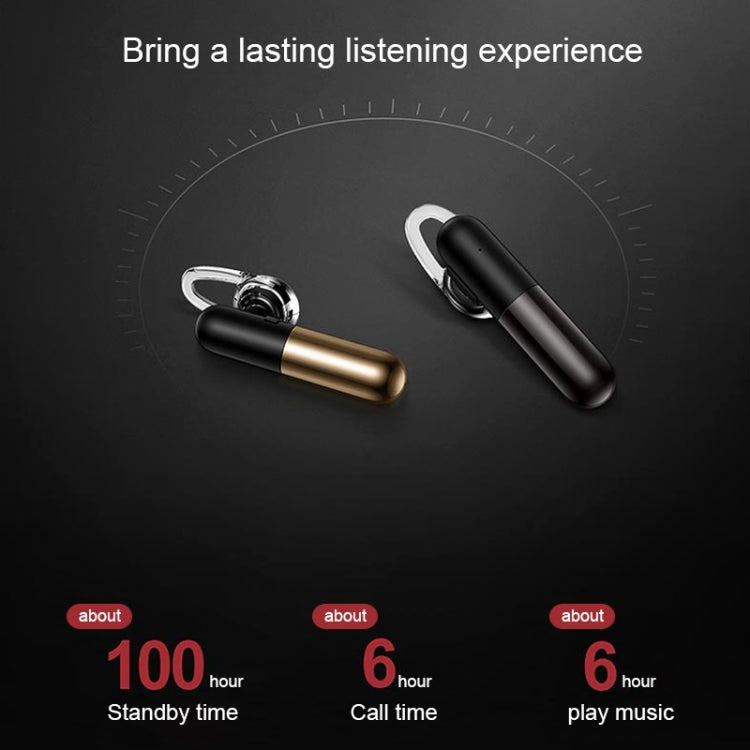 TOTUDESIGN EAUB-12 Capsule Series Wireless Bluetooth 4.1 Headset(Gold) - star-produkte.myshopify.com