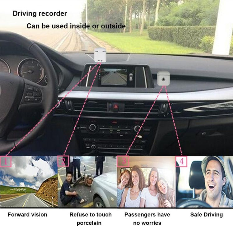 F8 Multi-function Car Driving Recorder Bluetooth Headset Video Recording Box, Capacity : 16GB(Black) - star-produkte.myshopify.com