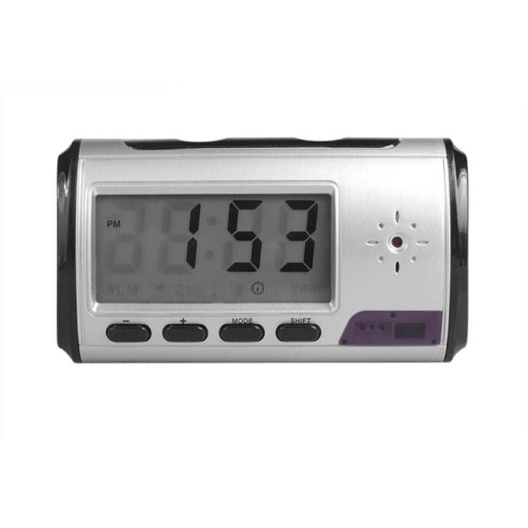 Multifunctional LED Clock Smart Square Creative Alarm Clock(Silver) - star-produkte.myshopify.com