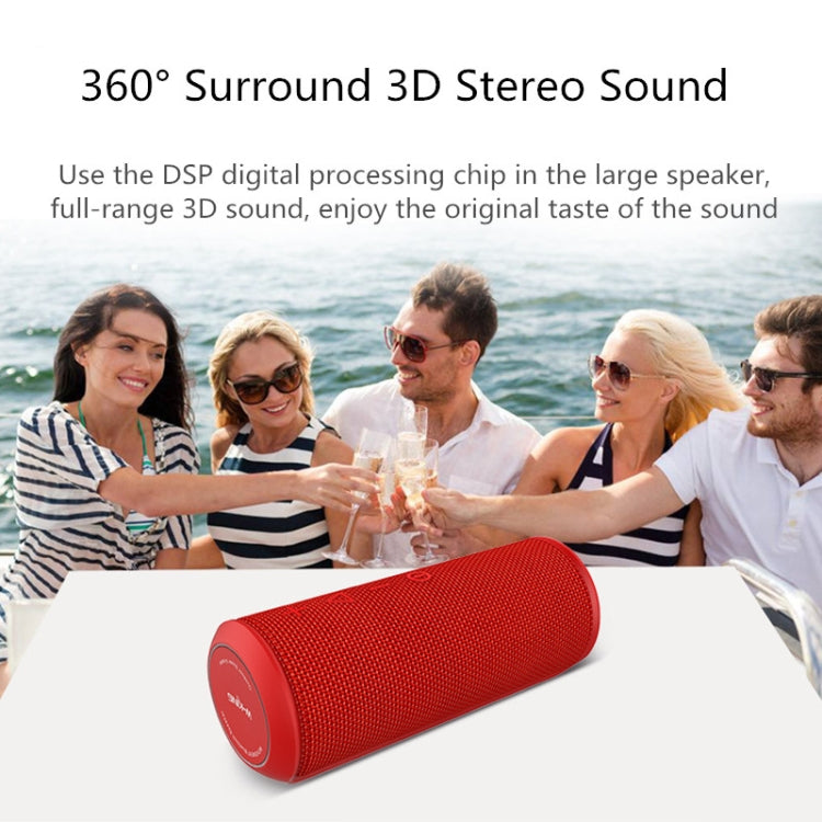 W-KING X6S Bluetooth Speaker 20W Portable Super Bass Waterproof Speaker with  Stereo Sound Soundbar Column for Music MP3 Play(blue) |