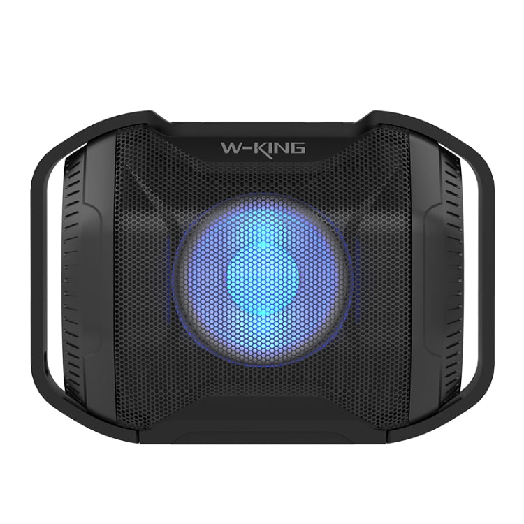 W-king S8 5W Speaker Waterproof IPX5 With LED Light Bluetooth Wireless Speaker Portable Outdoor Speaker For Motor/Bicycle Hander - Star Produkte