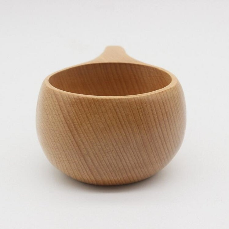 Hand Made Wood Tableware Green Wooden Cup, Capacity:101-200ml(Trunk) - Star Produkte