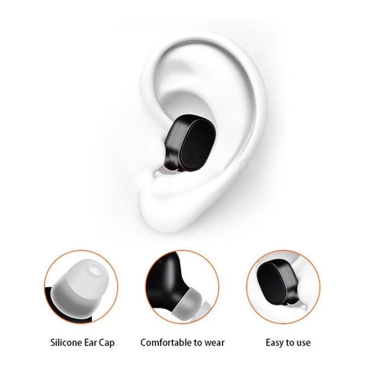 LESIRI X12 Bluetooth Headset Mini Wireless Earphone Portable USB Magnetic Charging Headset Sport Earbud Headset for iPhone(Gold) - star-produkte.myshopify.com