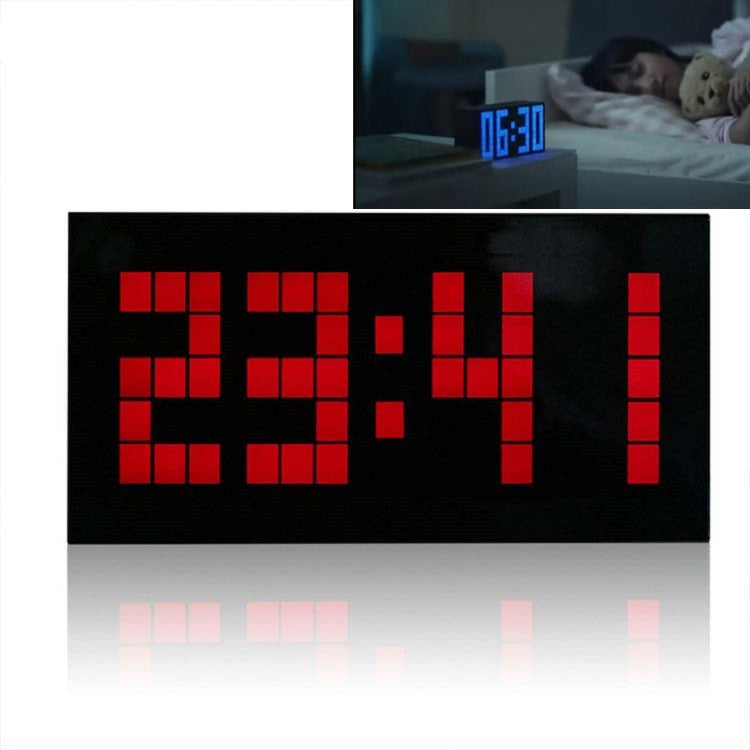 Digital Electronic Alarm Clock Creative LED Desk Clock US Plug, Style:4 Digits 5 Segments(Red Light) - Star Produkte
