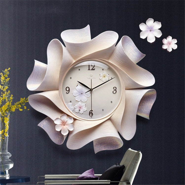 Creative Wall Clock Pure Hand-painted Wall Clock(Purple) - Star Produkte