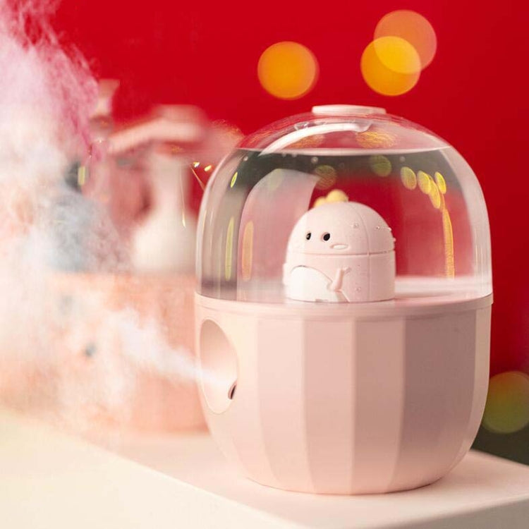 Mini Household Air Purification Humidifier Aroma Diffuser Sprayer, Specification:Direct Plug Power-in(Dinosaur) |
