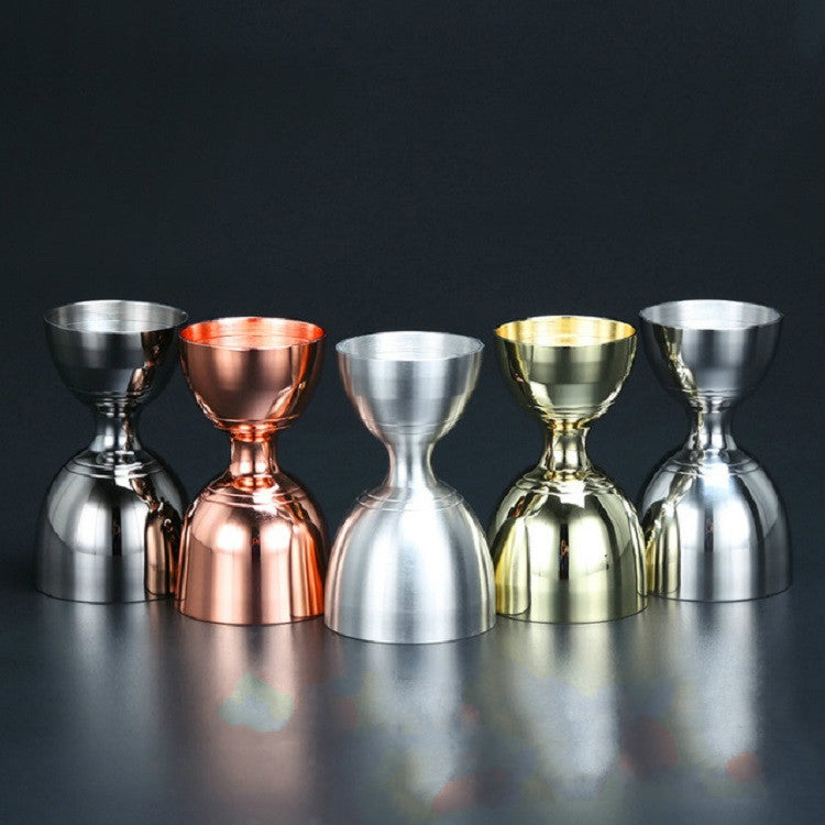 Stainless Steel Wine Measurer Ounce Cup Mixing Measuring Cup, Color:Mirror Light - star-produkte.myshopify.com
