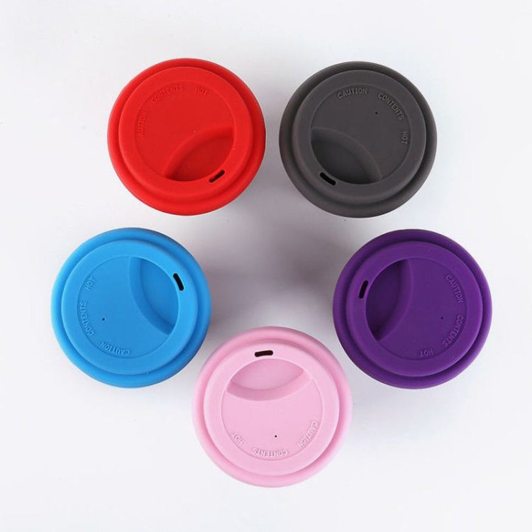 400ML Reusable Bamboo Fibre Coffee Cups Silicone Eco Friendly Travel Coffee Mugs(Yellow) |