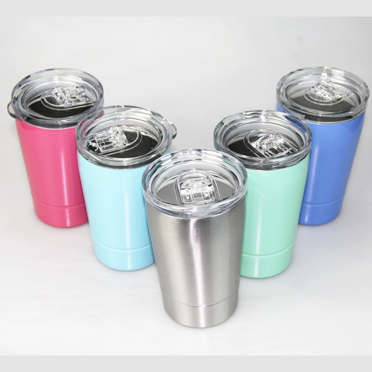 2 PCS 8oz Portable Vacuum Insulated Beer Mug Stainless Steel Travel Mug Coffee Cup With Lids(Stainless Steel) - Star Produkte