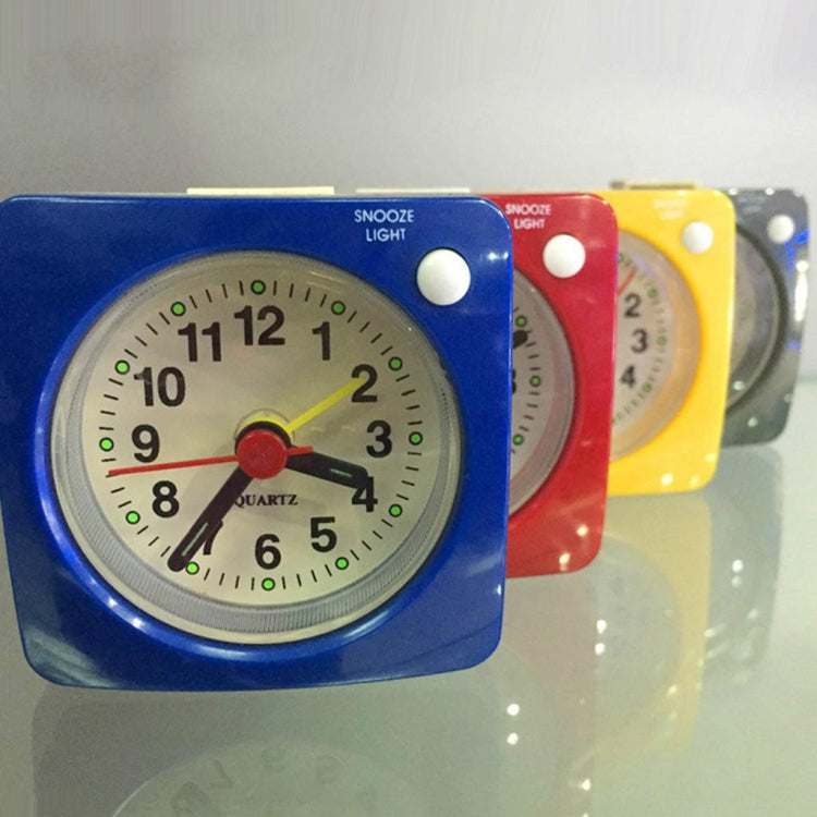 Travel Small Alarm Clock Bedside Mute Alarm Clock with Light & Snooze Function(Red) - star-produkte.myshopify.com