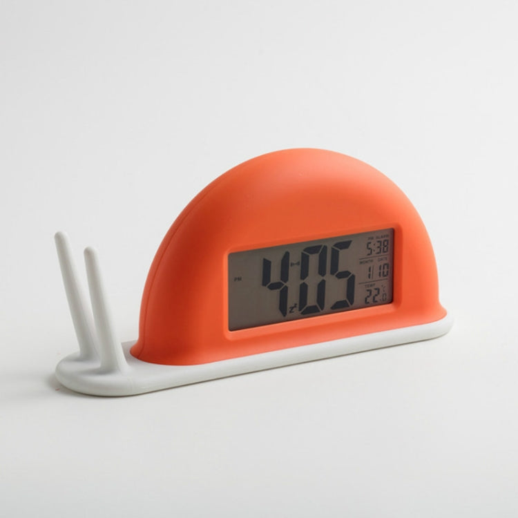 Snail LED Creative Digital Touch Sensing Electronic Alarm Clock(Red) - Star Produkte