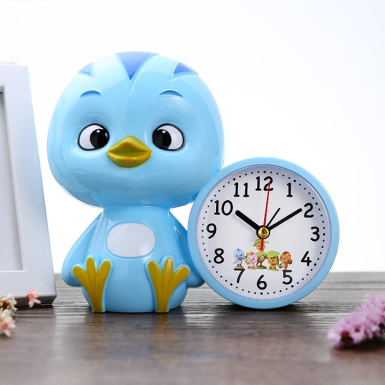 3 PCS Creative Children Cartoon Cute Duck Student Alarm Clock(Blue) |